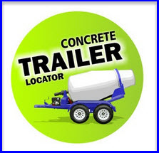 portable concrete mixer locator