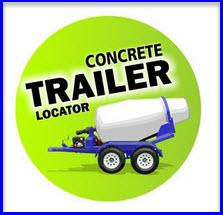 portable concrete mixer locator